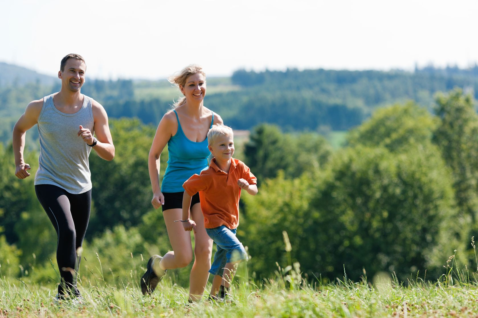 Exercising in the family strengthens the emotional bond